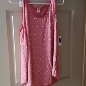 Old navy NWT Luxe large high low tank top